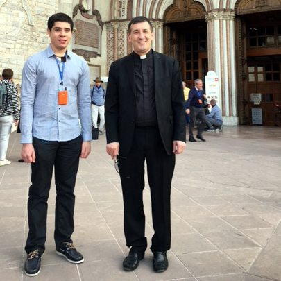 Père André et Évandro